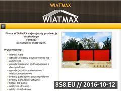 Miniaturka domeny garazewiatmax.pl