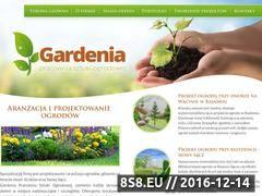 Miniaturka domeny www.gardenia-ogrody.pl