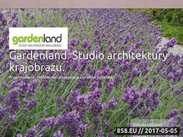 Zrzut strony Projektowanie i zakładanie ogrodow Wrocław Gardenland