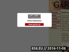 Miniaturka domeny www.garder.com.pl