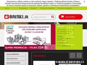 Zrzut strony Komplety garnków - Garnki.pl