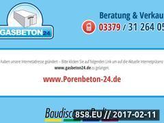 Miniaturka domeny www.gasbeton24.de