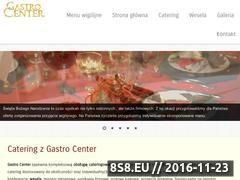 Miniaturka domeny www.gastrocenter.pl