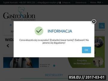 Zrzut strony Witryny chłodnicze