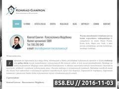 Miniaturka domeny gawron-rzeczoznawca.pl