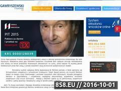 Miniaturka domeny www.gawryszewskifinanse.pl