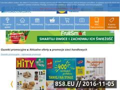 Miniaturka domeny gazetkapromocyjna.com.pl