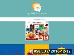 Miniaturka domeny www.gazetkipromocyjne.net