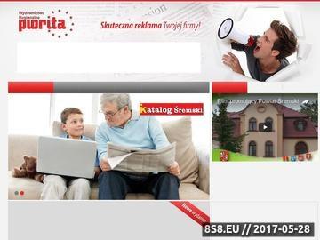 Zrzut strony Skuteczna reklama, czyli gazetki reklamowe Poznań, Śrem, Wielkopolska