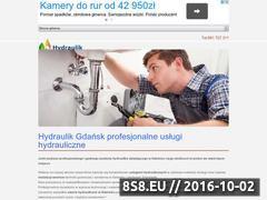 Miniaturka domeny www.gdansk-hydraulik.pl