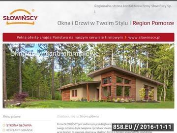 Zrzut strony Okna drewniane oraz drewniano aluminiowe w Gdańsku