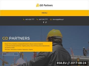 Zrzut strony BHP szkolenia