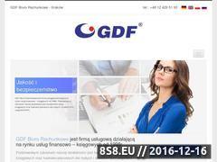 Miniaturka domeny www.gdf.krakow.pl
