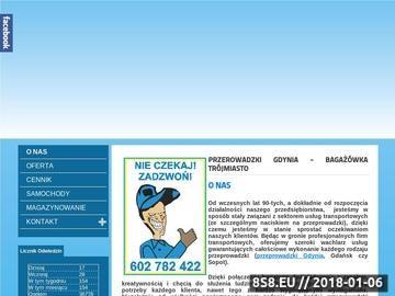 Zrzut strony Przeprowadzki Gdynia