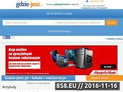 Miniaturka domeny www.gdzie-jesc.pl