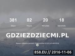 Miniaturka domeny gdziezdziecmi.pl