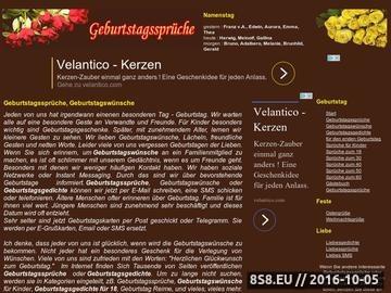 Zrzut strony Geburtstagssprüche