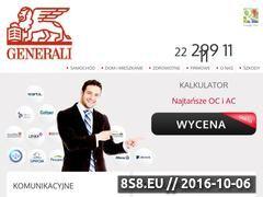 Miniaturka domeny generali.net.pl