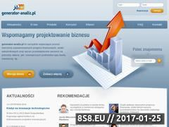 Miniaturka domeny generator-analiz.pl