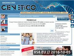 Miniaturka domeny www.genetico.pl