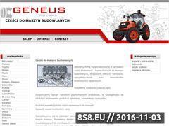 Miniaturka domeny www.geneus.pl
