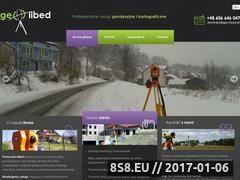 Miniaturka domeny www.geo-libed.pl