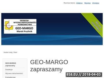 Zrzut strony Pośrednictwo sprzedaży nieruchomości - Geo-Margo