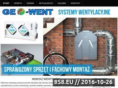 Miniaturka domeny www.geo-went.pl