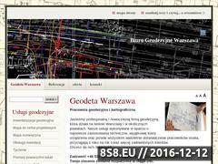 Miniaturka domeny www.geodeta-warszawa.pl