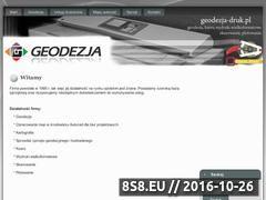 Miniaturka domeny geodezja-druk.pl