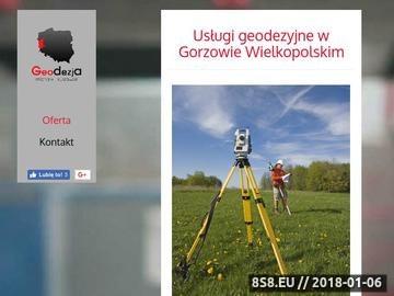 Zrzut strony MICHALIK-KURZAWSKI usługi geodety