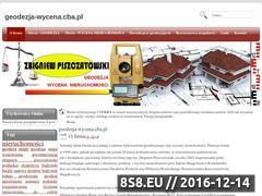 Miniaturka domeny geodezja-wycena.cba.pl