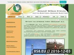 Miniaturka domeny www.geojust.pl