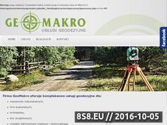 Miniaturka domeny www.geomakro.pl