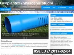 Miniaturka domeny www.geoplantex.pl