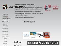Miniaturka domeny www.geopryzmat.com