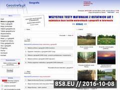 Miniaturka domeny www.geostrefa.pl