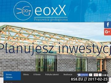 Zrzut strony Geoxx geologia złożowa