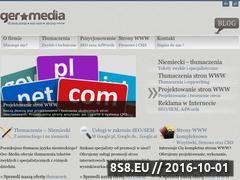 Miniaturka domeny www.ger-media.pl