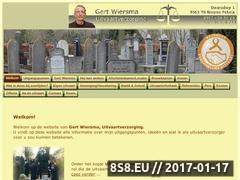 Thumbnail of Gert Wiersma Uitvaartverzorging Website