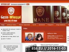 Miniaturka domeny geste-wlosy.pl