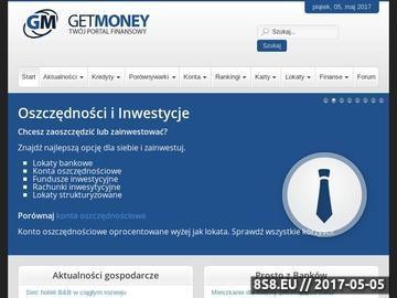 Zrzut strony Kredyty mieszkaniowe