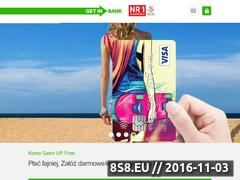 Miniaturka Getinbank (www.getinbank.pl)