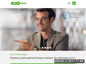 Zrzut strony Lokaty w Getin Banku