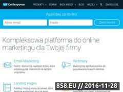 Miniaturka domeny www.getresponse.pl
