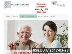 Thumbnail of Ghauri Dental Centre Website