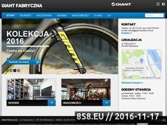 Miniaturka domeny www.giantfabryczna.pl