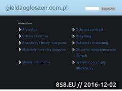 Miniaturka domeny www.gieldaogloszen.com.pl