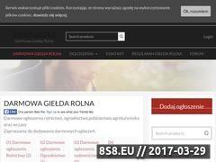 Miniaturka domeny www.gieldarolna24.pl