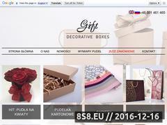 Miniaturka domeny www.gift.biz.pl
